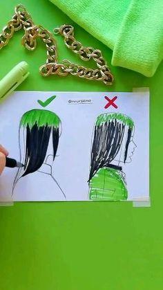 Girly Drawings, Art Drawings Sketches Simple, Pencil Art Drawings, 3d Art Drawing, Art Drawings Beautiful, Diy Canvas Art, Doodle Art, Art Tutorials, Cute Art