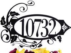 5 Digit Outdoor House Numbers Address Metal Sign - Address Plaque. $89.95, via Etsy.