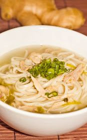 BestOodles - Authentic easy Burmese recipes: Chicken Noodle soup