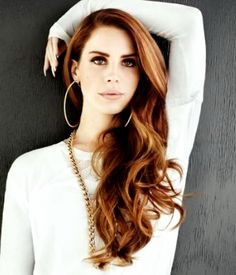 "Lana Del Rey- My goal length for my hair. (Ps, ""Done my hair up real big beauty queen style"") is a Lana Del Rey line. Nerd? So past nerd. I laugh in the face of nerds."