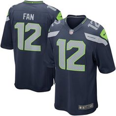 Nike Seattle Seahawks 12th Fan Game Jersey - Navy Blue I NEED ONE OF THESE! bf29f6f0b