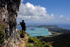 Film maker, Andy Lloyd, working on a project | Lord Howe Island