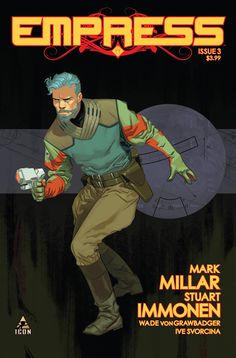 MARVEL COMICS (W) Mark Millar (A/CA) Stuart Immonen Emporia and her children are racing across the galaxy with vengeful dictator Morax hot on their tails. Morax has a new fleet of security who'll stop
