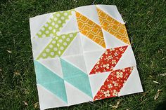 Welcome to our third block in the Summer Sampler Series quilt-along! I'm so thrilled to be sharing another fun traditional-to-modern block with all of you. Feel free to join in any time—a com…