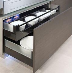 Küche mit viel Komfort - Immer griffbereit