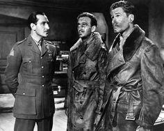 The Dawn Patrol (1938) Basil Rathbone, David Niven and Errol Flynn