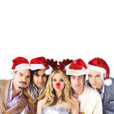 Merry Christmas from Big Bang Theory!