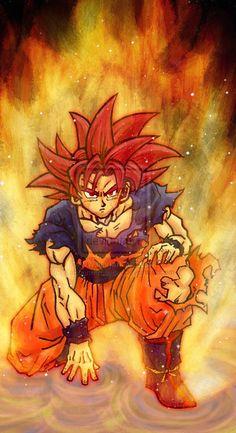 |★| Goku |亀| super saiyan god