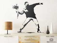 Browse & shop our range of graffiti wallpaper designs. Create a stunning bedroom interior with our cool graffiti & street art murals. Banksy Mural, Graffiti Art, Wall Murals, Graffiti Wallpaper, Wall Wallpaper, Street Art, Off The Wall, Gallery, Nottingham