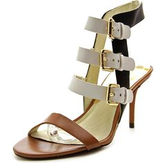 Michael Kors Woman's Beverly Leather Mule Pump => Stop everything and read more details here! : Platform sandals