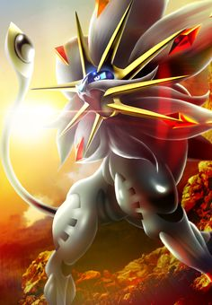 Solgaleo by cascade-gonpory on DeviantArt Groudon Pokemon, Solgaleo Pokemon, Pokemon Eeveelutions, Pokemon Fan Art, Pokemon Fusion, Pokemon Cards, Hd Pokemon Wallpapers, Pokemon Backgrounds, Cute Pokemon Wallpaper