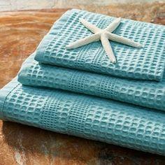 Classic Waffle Weave Bath Towel Set 6-pc