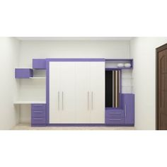 Flowering Cherry Modular Wardrobe Online Comes With Trending Colour And Also with Laminate Finish - Adorn Your Bedroom With A Latest And Stylish Wardrobe Design Wall Wardrobe Design, Bedroom Closet Design, Bedroom Wardrobe, Bedroom Cupboard Designs, Small Bedroom Designs, Closet Designs, Kids Room Design, Home Room Design, Interior Design Studio