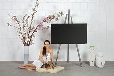TV-Halter tripod art130   Produktdesign   wissmann raumobjekte