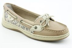 Sperry Top Sider Angelfish Shoes Brown Womens... Yes please!