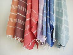 turkish towels, simply beautiful (via Etsy & bath style)