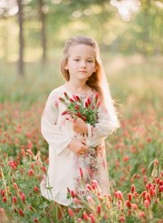 In Crimson Clover | Belle Lumiere Magazine..... Gorgeous crimson clover field (wild flowers) photoraphs.