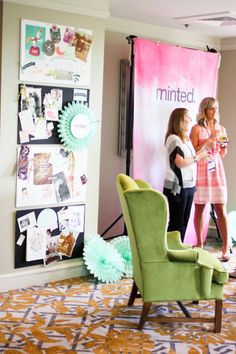 Mom 2.0 Summit Derby Party for Minted :: Style and Design