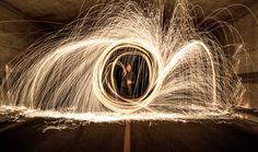 Sparks - Long Exposure - Night Photography - CMfotography - Foto - fotografia