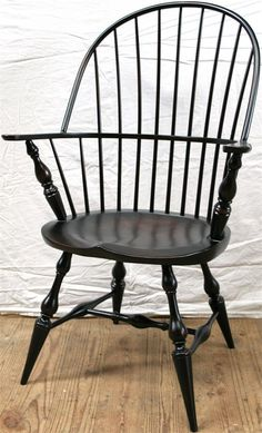 Amish Nantucket Fanback Windsor Dining Chair Nantucket Dining