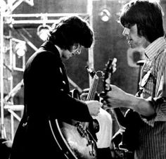 Yardbirds Jimmy Page and Jeff Beck