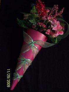 Paper cones are an easy and affordable way to present flowers Church Pew Cones; DIY projects and supplies for weddings. Description from flowwedding.com. I searched for this on bing.com/images
