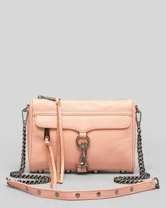 Rebecca Minkoff, Crossbody bag, bolso rosa, nude, chicas, fashion, moda www.PiensaenChic.com