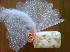 Peçete dekupaj ile sabun süsleme – 10marifet.org