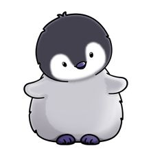 Baby Penguin - Lots of clip art on this site