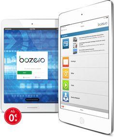 Alle relevanten Dokumente und Dateien (PDF, Video, Bilder) in einer App — sichere Verwaltung, dynamischer Zugriff und gezielte Kommunikation.