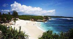 Dream beach, Nusa Lembongan, Bali: