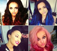 Love the hair colors