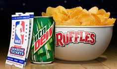 Ruffles Mountain Dew Get In The Playoffs Sweepstakes (Lots of Prizes!) - http://freebiefresh.com/ruffles-mountain-dew-get-in-the-playoffs-sweepstakes-lots-of-prizes/