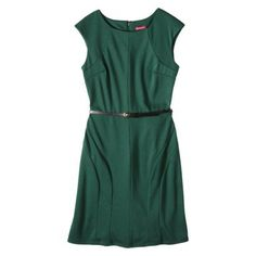 Merona® Women's A-Line Ponte Dress - Assorted Colors (in Green Marker) (Target)