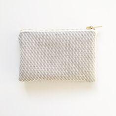 Sustainable coin purse Hays Organic Hemp and by ElizaElizaUK