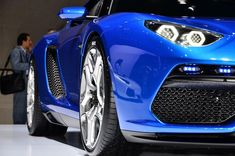 Blue Lamborghini Wallpaper Images
