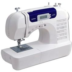 Brother CS6000i Feature-Rich Sewing Machine With 60 Built-In Stitches, 7 styles of 1-Step Auto-Size