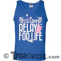 TGI Greek-Delta Gamma-Relay for Life