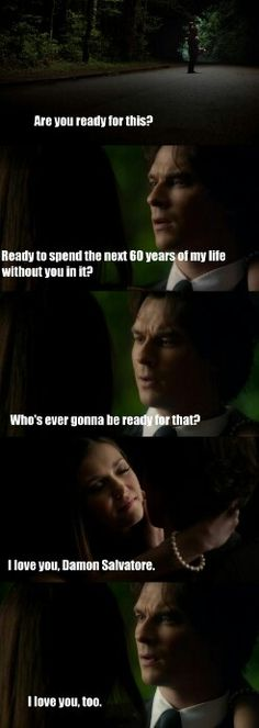 "#TVD 6x22 ""I'm Thinking Of You All The While"" - Elena and Damon"
