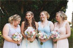 Bridesmaids | Pastel Colours | Summer Wedding | UK Wedding Photographer | www.livvy-hukins.co.uk