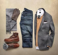 the latest trends in mens fashion and mens clothing styles Designer menswear is gaining more and more popularity with time and soon men will catch up with women both on the runway Fashion Mode, Look Fashion, Autumn Fashion, Fashion Trends, Fashion Updates, Daily Fashion, Fashion Wear, Fashion Check, Runway Fashion