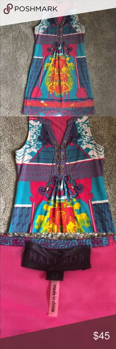Hale Bob medium dress Hale Bob Medium dress. Excellent used condition. Hale Bob Dresses Mini