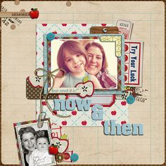 Scrapbook - Now & Then: 09/22/2011 | Flickr - Photo Sharing!