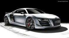 2012 Audi R8 GT. Make mine Alpine white  with the V-10.