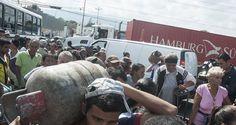 Ya se volvió rutina que los habitantes de Santa Rosalía, comunidad ubicada al oeste de la ciudad, cierren la avenida Florencio Jiménez en Barquisimeto como