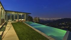 Pharrell Williams Just Bought Ryan Gosling's House that was featured in the movie 'Crazy, Stupid, Love.' It is a gorgeous glass-and-steel stunner of a home overlooking Los Angeles.