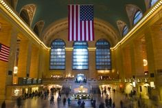 5. 5 NYC Landmarks #4:  Grand Central Terminal, New York City. Traveling by train is one of my favorite ways to get around, but I haven't been to many of the big old stations here in America, so it'd be fun to go! #AerieFNO