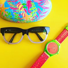 @pinkflamingos88 pairs her #gxStyle glasses with her @Harajukuworld watch! 😍What a duo!