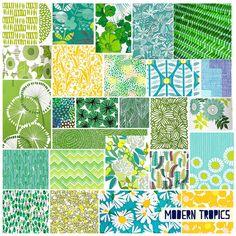 Modern Tropics Mood Board by hangtightstudio, via Flickr