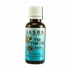 Jason Natural Cosmetics - Pure Australian Tea Tree Oil, 1 fl oz liquid by Jason Natural.  . Jason Natural Products 1X 1 Oz 100% Pure Tea Tree Oil. Anti-Bacterial Therapy.:. Jason Naturally Therapeutic 100% Pure Tea Tree Oil (Melaleuca Alternifolia) Is A Medicine Kit In A Bottle. This Pharmaceutical Grade Oil Has Long Been Known For Its Medicinal Properties And Has Been Used For Years As A Natural Antiseptic.